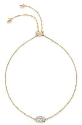 Kendra Scott Millicent Diamond & Gold Bracelet