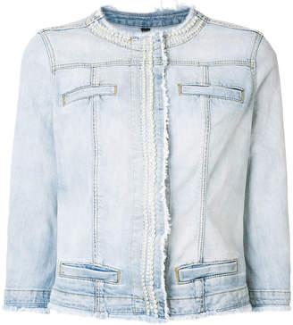 Liu Jo frayed-edge denim jacket