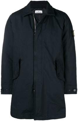 Stone Island lightweight padded trench