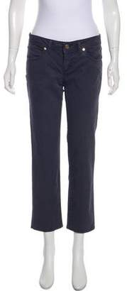 Tory Burch Cropped Straight-Leg Pants