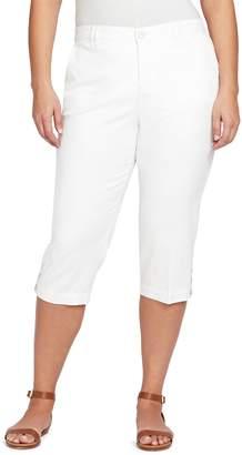 Gloria Vanderbilt Plus Size Slim Fit Capris