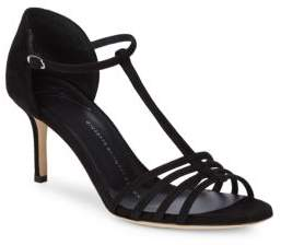 Giuseppe Zanotti Leather Ankle-Strap Open-Toe Sandals