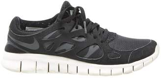 Nike Free Run Black Cloth Trainers