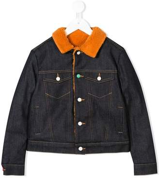 tMumofsix contrast denim jacket