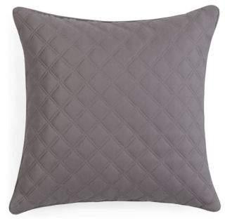 """Hudson Park Collection Double Diamond Decorative Pillow, 16"""" x 16"""" - 100% Exclusive"""