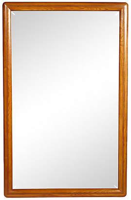 One Kings Lane Vintage Drexel Oak Wall Mirror