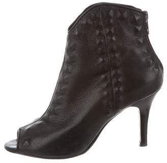 Cynthia Vincent Leather Booties