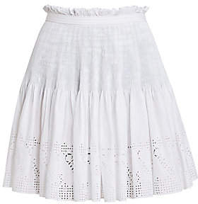 Chloé Women's Cotton Gathered Skirt