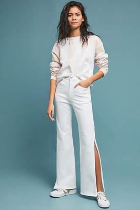 3x1 Adeline High-Rise Split Flare Jeans
