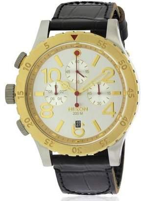 Nixon Men's Chronograph Leather Watch A3631884