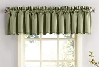 Sun Zero 48697 Barrow Energy Efficient Rod Pocket Curtain Valance
