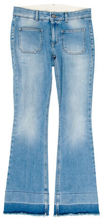 Stella McCartney Stella McCartney Mid-Rise Straight-Leg Jeans