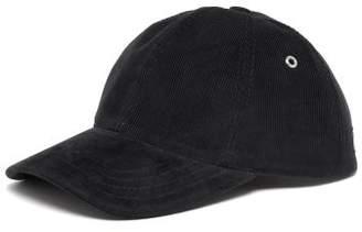 Ami Cotton Corduroy Baseball Cap - Mens - Navy