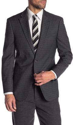 Tommy Hilfiger Check Notch Collar Stretch Jacket