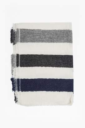 French Connection Philomena Striped Scarf