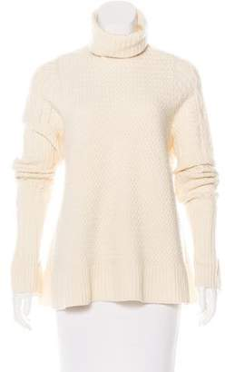 The Row Cable Knit Turtleneck Sweater