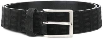Simonnot Godard textured buckle belt