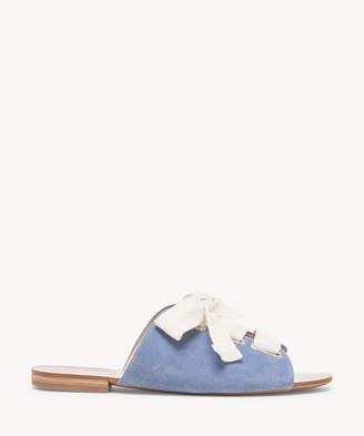Sole Society Marinn Lace-Up Flat Sandal