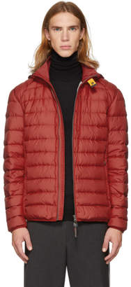 Parajumpers Red Super Lightweight Last Minute Jacket