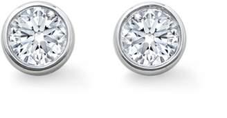 66c28261dd0 Gossamer 18ct White Gold 0.15cttw Diamond Stud Earrings