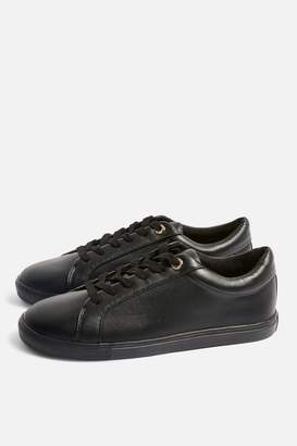 Topshop COOKIE Lace Up Trainers