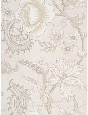 The Little Greene Paint Company Woodblock Trail Wallpaper