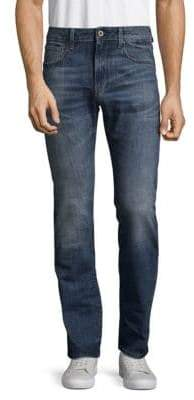 G Star Deconstructed Cotton Jeans