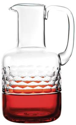Waterford Jo Sampson Half & Half Ginger Lead Crystal Pitcher