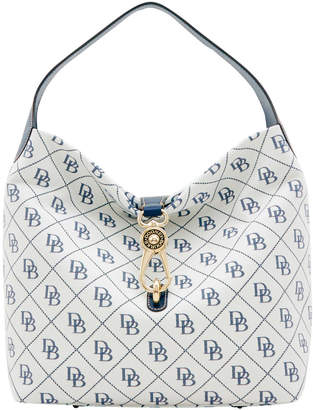 Dooney & Bourke Maxi Quilt Logo Lock Sac