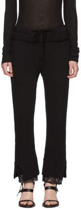 Ann Demeulemeester Black Dominic Lounge Pants