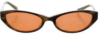 Paul Smith Marbled Tinted Sunglasses $75 thestylecure.com