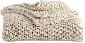 DKNY Pure Cotton Chunky Knit Throw Bedding