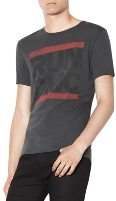 John Varvatos Star USA Run-DMC Graphic Tee $78 thestylecure.com