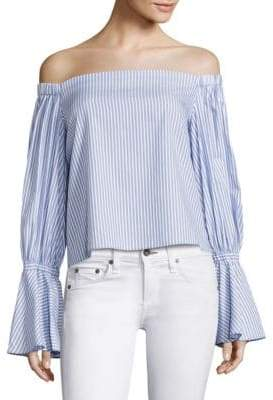 Juniper Off-The-Shoulder Blouse