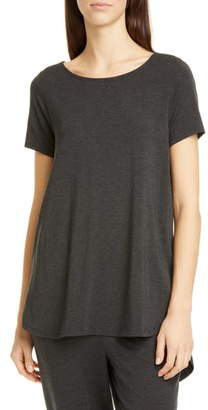 Eileen Fisher Ballet Neck Tencel® Lyocell Tee