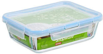 Snapware Spillproof 1.5L Glass Food Keeper with Lid