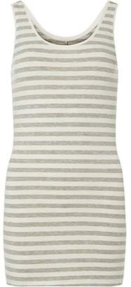Dorothy Perkins Womens **Only Grey and White Tank Top