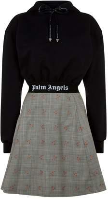 Palm Angels Hybrid Hoodie Dress