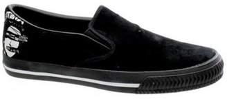 Draven Sex Pistols Queen Slip On Black/white Shoe Adult 05