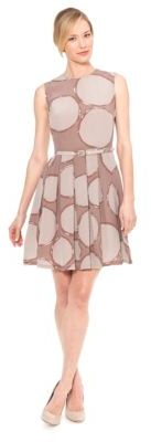 Raoul Round Neck Pleated Dress