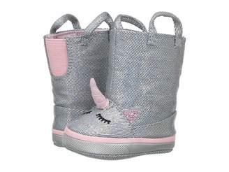 Baby Deer Soft Sole Unicorn Boot (Infant)