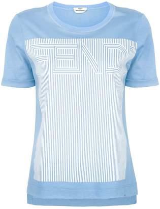 Fendi logo printed T-shirt