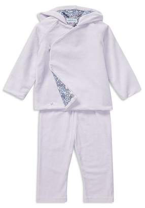 Ralph Lauren Girls' Velour Kimono Top & Pants Set - Baby