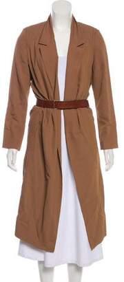 Giada Forte Wool-Blend Longline Blazer
