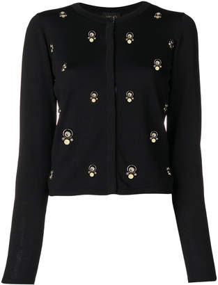 Liu Jo embellished slim fit cardigan