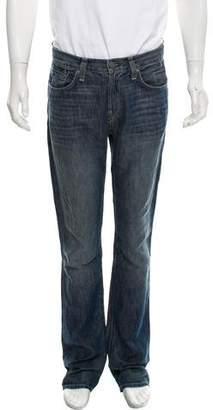 J Brand Kane Linen-Blend Slim Jeans
