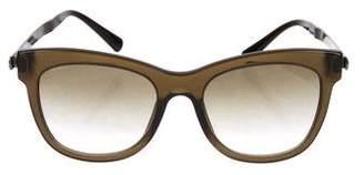 Giorgio Armani Square Gradient Sunglasses