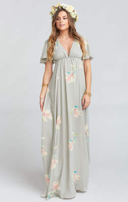 show me your mumu faye flutter maxi dress lily showers