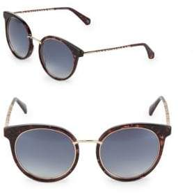 Balmain Gradient 53MM Oval Sunglasses