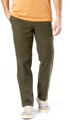 Dockers Mens Utility Cargo Straight Fit Canvas Pants D2
